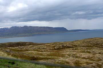 am Skagafjördur im Norden von Island