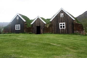 Torfhof Nybaer in Holar, Nordisland