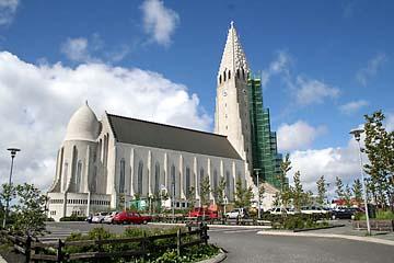 Reykjavik, Hallgrimskirche, Island, Südwesten
