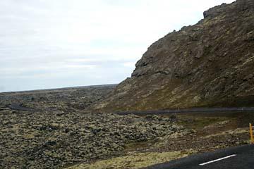 Lava-Landschaft bei Grindavik, Südwestisland