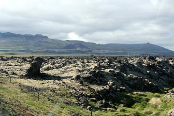 Lava-Landschaft zwischen Akranes und Borgarnes, Westisland