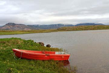 """Idylle bei """"Helgafell"""" nahe Stykkisholmur, Island, Westen"""