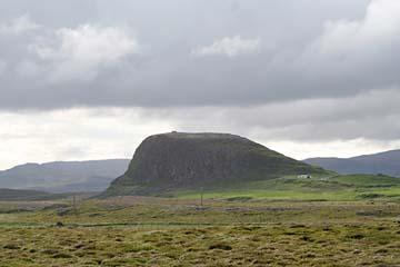 """Berg """"Helgafell"""", Halbinsel Snaefellsnes, Westisland"""