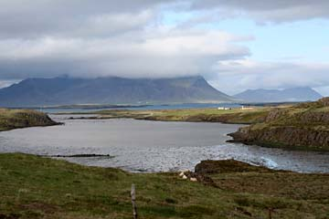 Landschaft bei Stykkisholmur, Halbinsel Snaefellsnes, Westisland