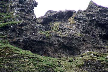 Vgelfelsen, Halbinsel Snaefellsnes, Island, Westen