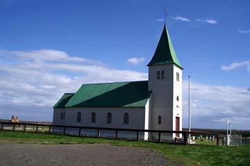 Kirche im Süden der Halbinsel Snaefellsnes, Westisland