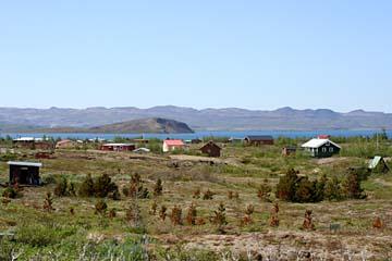 Ferienhäuser im Gebiet Laugavatn, Südisland