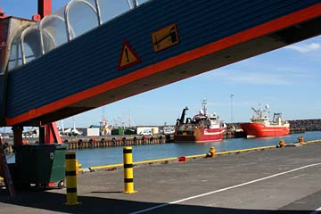 Porlakshöfn, am Fährhafen zu den Vestmannaeyjar-Inseln, Südwestisland