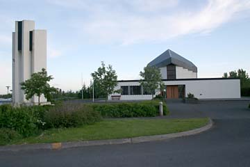 Kirche in Hveragerdi, Südisland