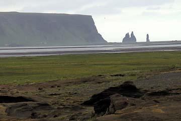 Vogelfelsen am Kap Dyrholaey, Südisland