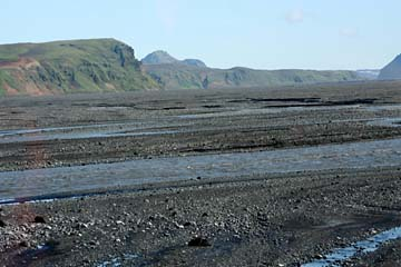 Myrdalsandur im Osten von Vik i Myrdal, Südisland