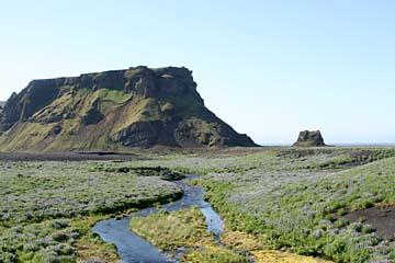 Sandurflächen östlich von Vik i Myrdal, Südisland