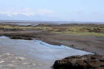 Landschaft im Süden von Island
