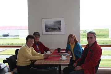 Einkehr im Museumsrestaurant an Straße 1 in Ostisland