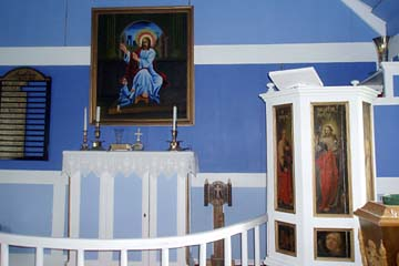 in der Stafafell-Kirche, Ostisland
