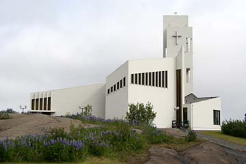 Kirche in Egilsstadir, Ostisland