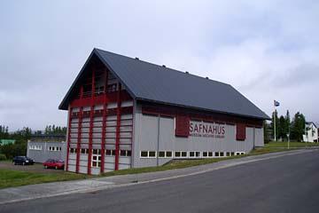 Museum in Egilsstadir, Ostisland