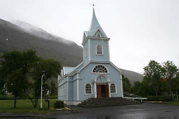 Kirche in Seydisfjördur, Ostisland
