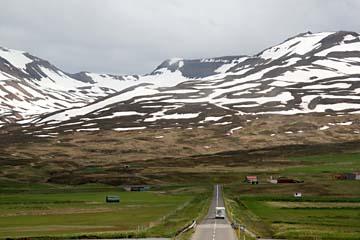 Fahrt hinaus nach Siglufjördur, Nordisland
