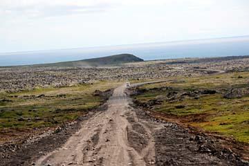 öde Landschaften im Westen der Halbinsel Snaefellsnes, Westisland