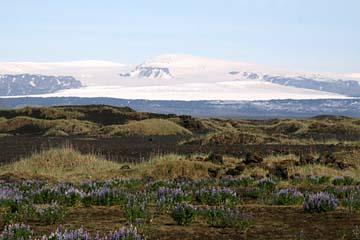 Sanderflächen vor dem Myrdalsgletscher, Südisland