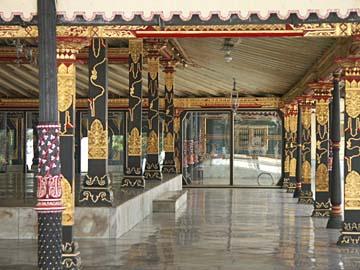 im Kraton von Yogyakarta, Java, Indonesien