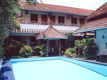das Prambanan Hotel in Yogyakarta, Java, Indonesien