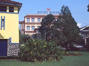 unser edles Hotel Mirah in Bogor, Westjava, Indonesien