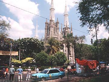 die Kathedrale in der Innenstadt von Jakarta, Hauptstadt von Indonesien