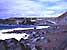 der rotschwarze Sandstrand von Verodal, El Hierro, Kanaren