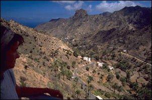 Berglandschaft auf La Gomera, Kanaren
