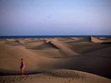 Die Dünenlandschaft von Maspalomas im Süden von Gran Canaria
