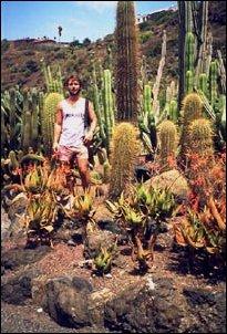 Im Jardin Botánico im Nordwesten der Insel Gran Canaria im Herzen der Kanaren