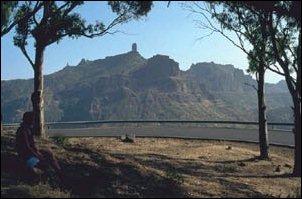 auf der Inselrundfahrt Gran Canaria...