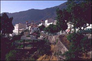 Das Dorf Teror im Landesinneren von Gran Canaria