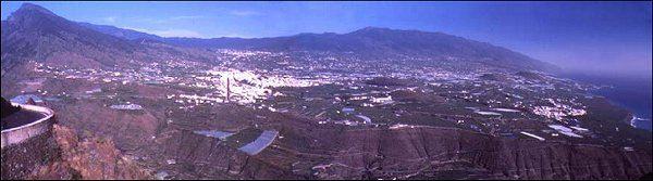 Ausblick vom Mirador El Time, La Palma, Kanaren