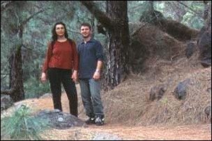 Achim und Marion auf La Palma, Kanaren