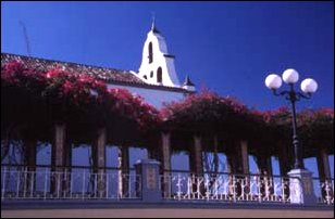 die Kirche von Tazacorte, La Palma, Kanaren