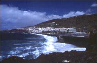 die Bucht von Puerto Noas, La Palma, Kanaren