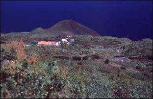 Landschaft in Norden von La Palma