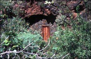 Höhlenwohnung bei Garafia, La Palma, Kanaren