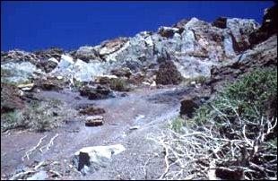 Berglandschaft, La Palma, Kanaren