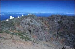 die astronomischen Observatorien, La Palma, Kanaren