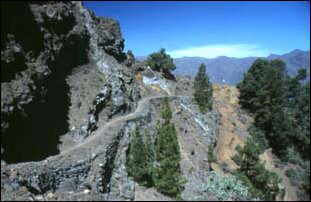 ein toller Wanderweg, La Palma, Kanaren