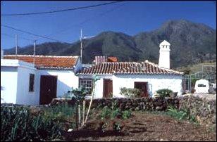 Häuser in El Paso, La Palma, Kanaren