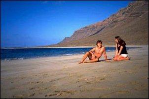 am Playa del Risco im Norden, Lanzarote