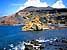 der Halbkrater El Golfo, Lanzarote, Kanaren