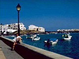 An der Uferpromenade von Arrecife auf Lanzarote