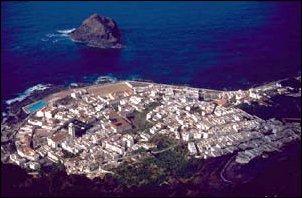 Die Hafenstadt Garachico, Teneriffa