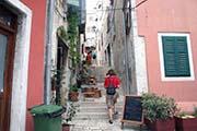Der Volksplatz Narodnj trg im dalmatischen Zadar